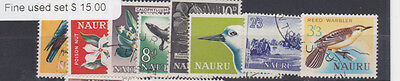 Nauru Isle 1963/5 SG 57/64 Fine Used Set
