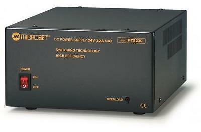 Stabilized Switching power supply 24V 30A Heavy Duty - Microset PTS 230