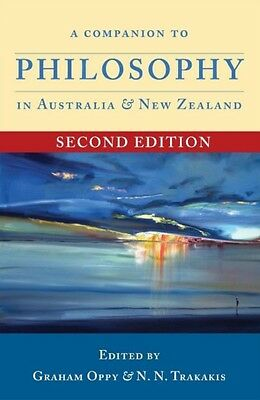 Companion to Philosophy in Australia & New Zealand (Paperback), G. 9781921867712