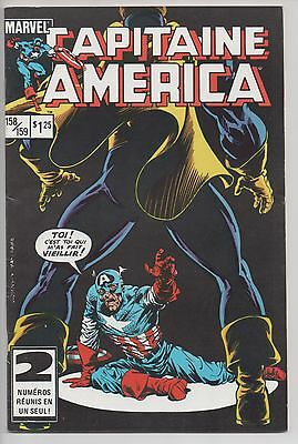 CAPTAIN AMERICA #158/159 french comic français EDITIONS HERITAGE