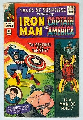 Tales of Suspense #68 August 1965 VG-