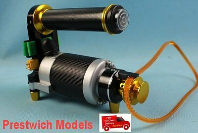 ELECTRIC STARTER for all engines 3.5cc to 35cc boat gas nitro LIPO LIFE