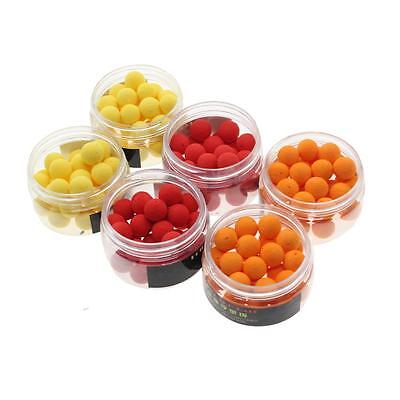 30Pcs/Box Floating Fishing Lure 12mm Flavor Feeder Beads Artificial Carp Baits