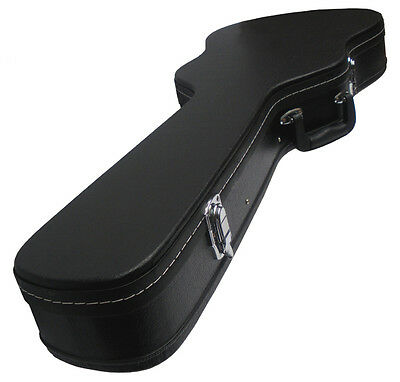 Hardcase Electric Guitar Hard Case Les Paul Shape Fully Padded And Lined