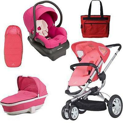 Quinny CV155BFX Buzz 3 Complete Collection - Pink Blush