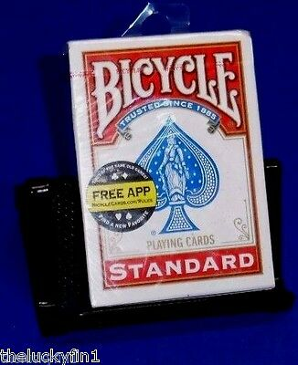 Bicycle Brand Standard Size & Print Playing Cards Red Color A112