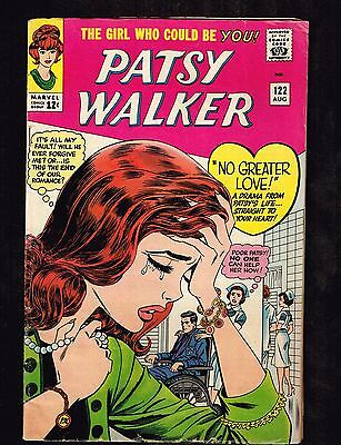 "Patsy Walker #122 ~ ""No Greater Love!"" ~ 1965 (5.0) WH"