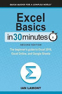 Excel Basics In 30 Minutes (2nd Edition): The beginner's guide to Microsoft Exce