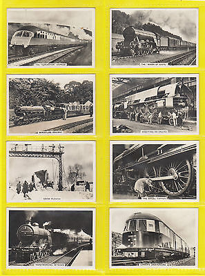 Railways - Pattreiouex - Scarce  Set  Of  48  British  Railways  Cards  -  1938