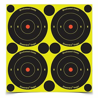 Birchwood Casey Shoot.N.C Self Adhesive Reactive Targets-48 to a Pack 34315