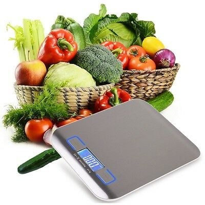New 5KG/1G Digital Kitchen Weight Scale LCD Electronic Diet Food Measure Device