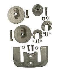 Mercruiser Anode Kit Bravo 3, 2004 On, Alloy Inc S/steel Hardware # Pm10165A