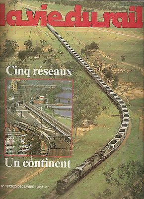1984 LA VIE DU RAIL n. 1973 QUEENSLAND Ligne MOUNT ISA Train de charbon *Rivista