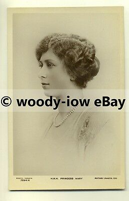 r0098 - Princess Mary , daughter of King George V - postcard
