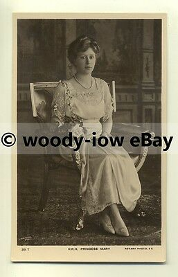 r0101 - Princess Mary , daughter of King George V - postcard