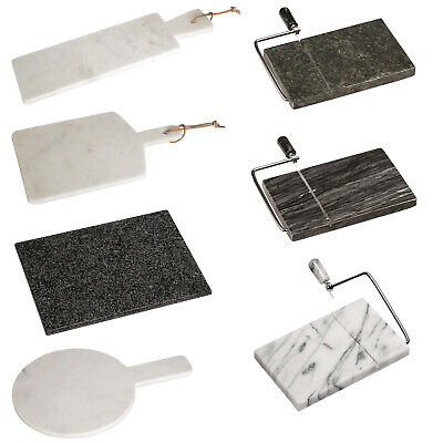 Extra Large Marble Chopping Boards Butchers Worktop Saver Cutting Meat Rack Slab