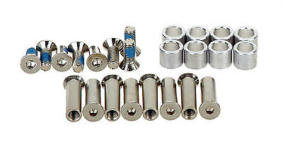 Bauer- BASE 8er Axle/Spacer Set - 24er Pack (70905). Für Inlineskates. Inliner.
