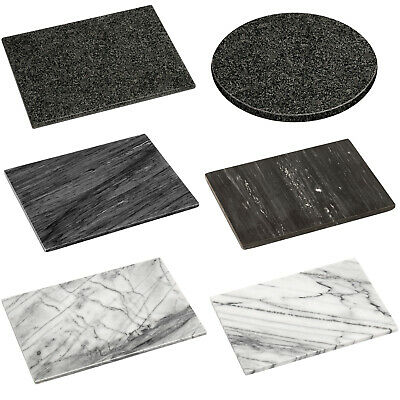 Marble Chopping Board Kitchen Cutting Slicing Pastry Serving Worktop Saver Slab