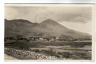 Croagh Patrick - Co Mayo Real Photo Postcard 1963