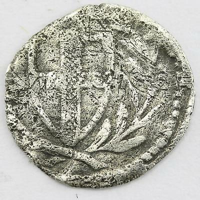 James I Commonwealth Hammered Silver 1d Penny