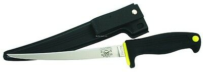 """New Calcutta 7"""" Fillet Knife made by Kershaw w/ABS Sheath 43007"""