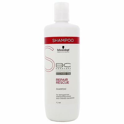 Schwarzkopf BC Bonacure Repair Rescue Shampoo 1000ml for her BRAND NEW