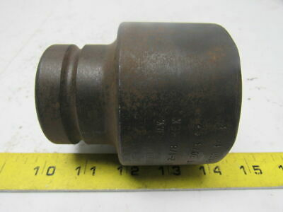"CHICAGO PNEUMATIC 2-1/8"" HEX Industrial Spline Drive Impact Socket"