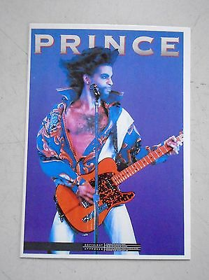 "Prince - Original vintage 90's Import Postcard / Exc.+ new cond. - 4 x 6"" RARE"