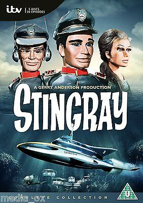 Stingray: The Complete TV Series Box Set Collection | New | Sealed | DVD