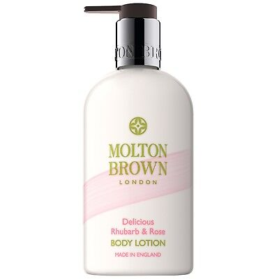 Molton Brown Rhubarb & Rose Body Lotion 300ml for her BRAND NEW