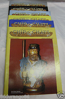 Chip Chats 1992 Complete Year Wood Carving Magazines