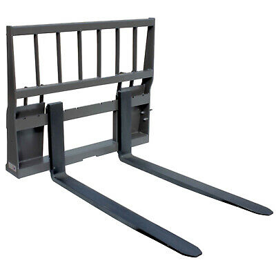 "UA Made in the USA HD Skid Steer Pallet Fork Attachment with 48"" Blades"