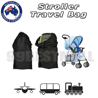 New Gate Check Standard Stroller Baby Pushchair Buggy Pram Travel Bag Case Cover