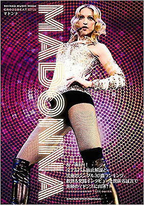 MADONNA Japan Photo Book CROSSBEAT Special Edition  2016