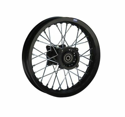 HMParts Pit Bike / Dirt Bike / Cross  Alu Felge eloxiert 1.85x12 - Typ2 15mm