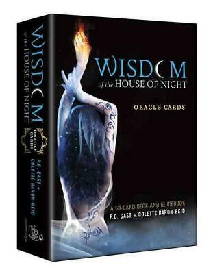 Wisdom of the House of Night Oracle Cards: A 50-Card Deck and Guidebook by P.C.