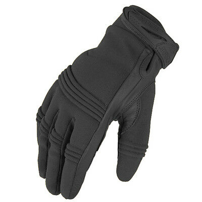 CONDOR #15252 Black Tactician Tactile Touch Screen Friendly Gloves- Size 8 Small