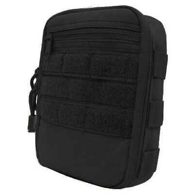 Condor MA64 Black MOLLE PALS Paracord Supported Work Station Side Kick Pouch
