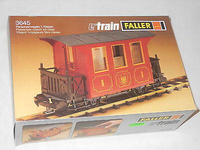 Faller Vintage Eisenbahn - Personenwagen Waggon E Train  - 3645 - Ovp Play Train