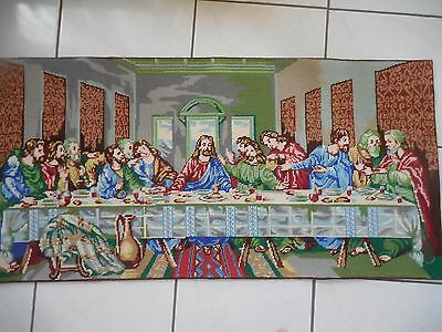 Tapestry Picture Collection D'art The Last Supper Completed
