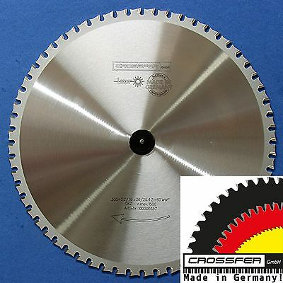 Sägeblatt METALLE EISEN 305x30mm Z60 WWF MADE IN GERMANY für Dry Cutter Jepson