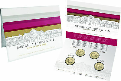 2016 $1 Privy Mark and Mintmark Four Coin Set: Australia's First Mints, RAM