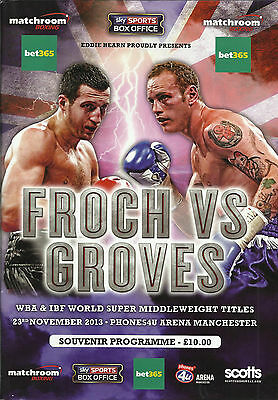 2013 Carl Froch vs George Groves [I] World Title Programme