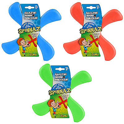 Spinnaz Indoor Boomerang (Set of 3 colours supplied)