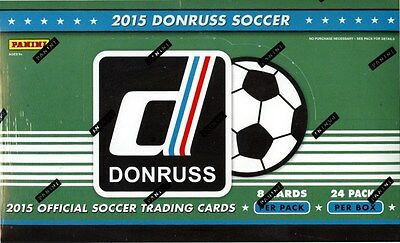 2015 Panini Donruss Soccer Box Blowout Cards