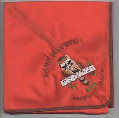 Boy Scouts - CAMP BEDFORD, ADIRONDACK COUNCIL - embroidered neckerchief