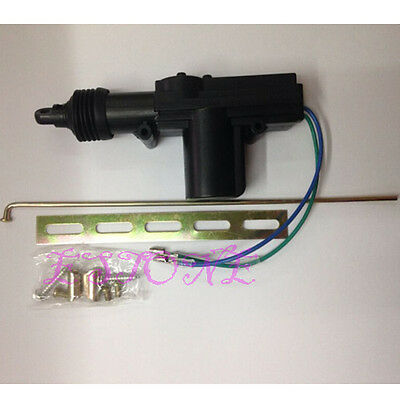 Universal 12V Auto Car Plastic Heavy Duty Power Door Lock Actuator Motor 2 Wire