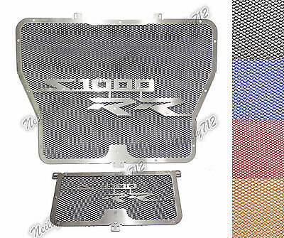Radiator Grill + Oil Cooler Cover Protector For 2009-2016 BMW S1000R S1000RR HP4
