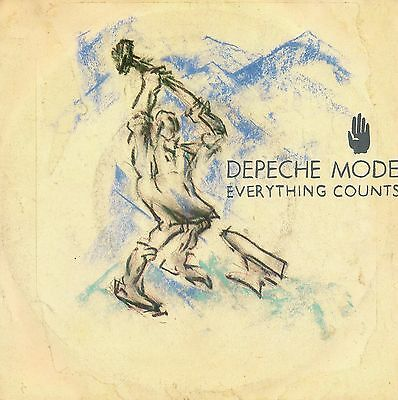 DEPECHE MODE 45 GIRI EVERYTHING COUNTS ITALY 1983 near mint
