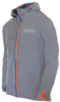OMM Aeon Mens Running Jacket - Grey